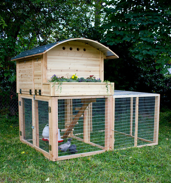 Run Extension for Stationary Chicken Coop