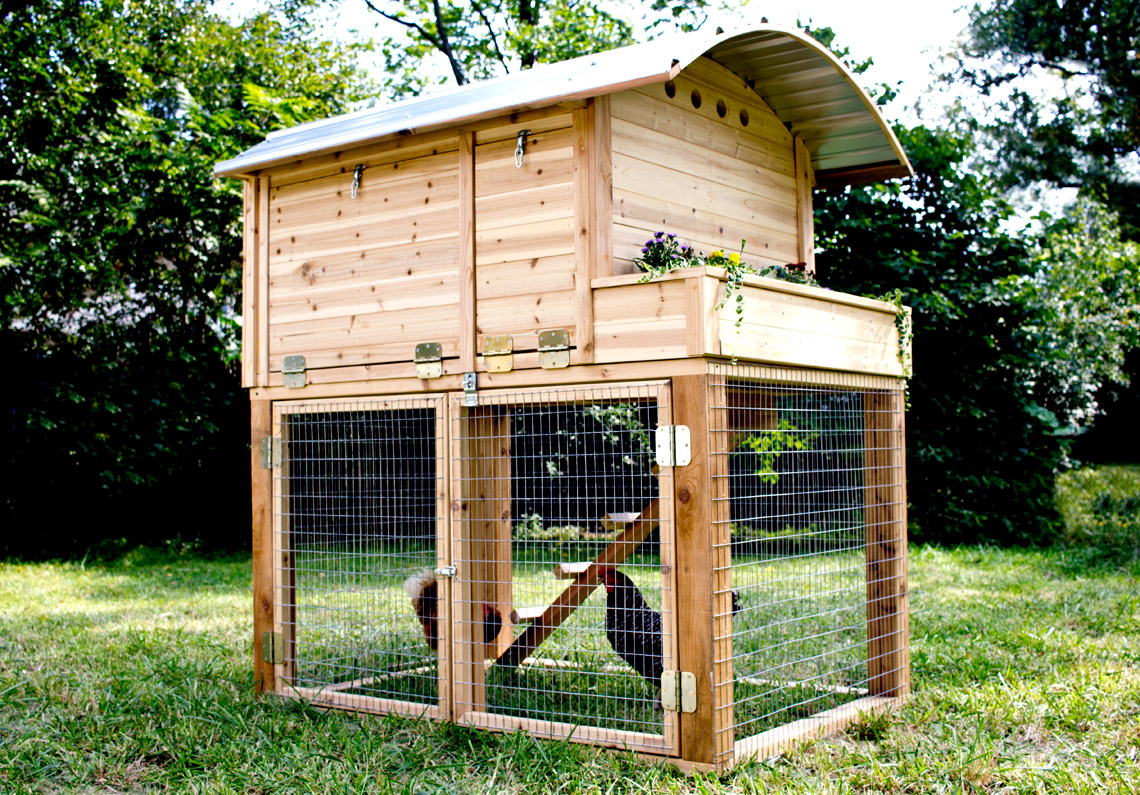 Deluxe Cedar Chicken Coop The Easy Chicken St Louis Mo